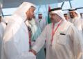 بالصور: محمد بن راشد ومحمد بن زايد والملك سلمان خلال «جائزة الاتحاد للفورمولا1»