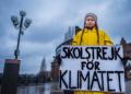 إضراب جريتا تونبيرج الناشطة البيئية من أجل المناخ - 2018