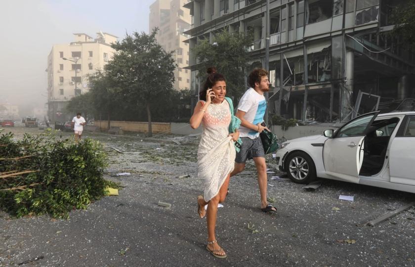 بيروت تحترق